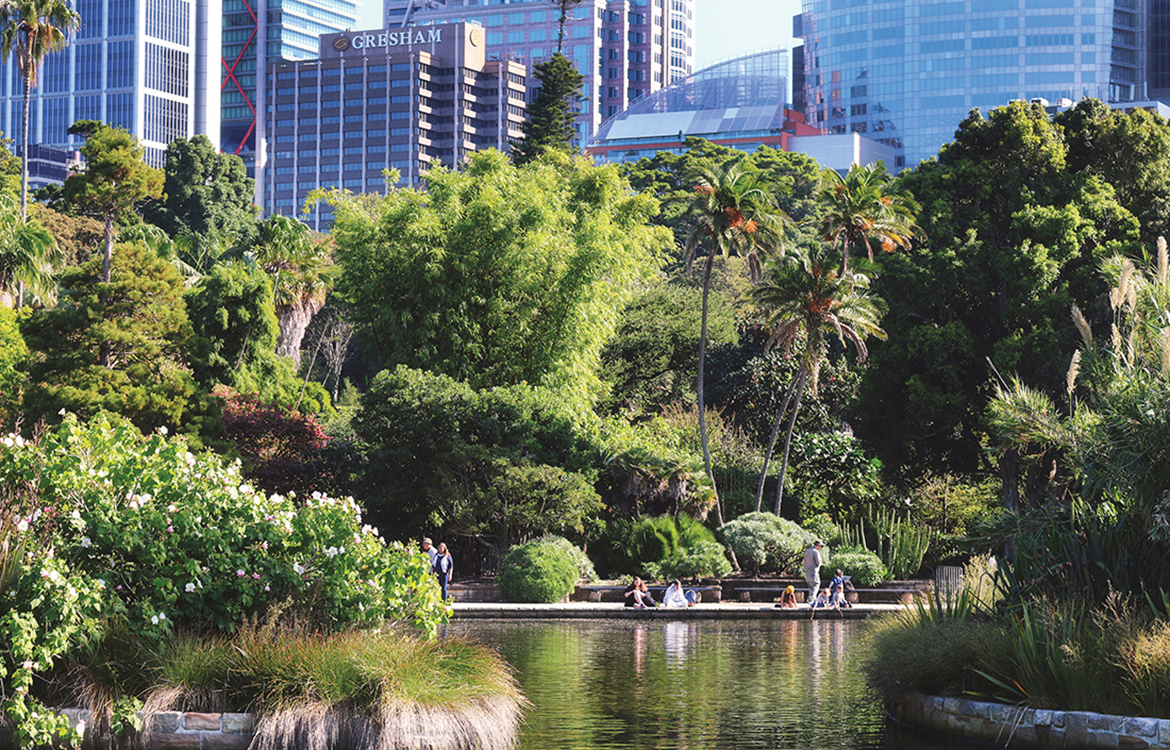 Botanical Gardens (Photo: Tourism Australia)