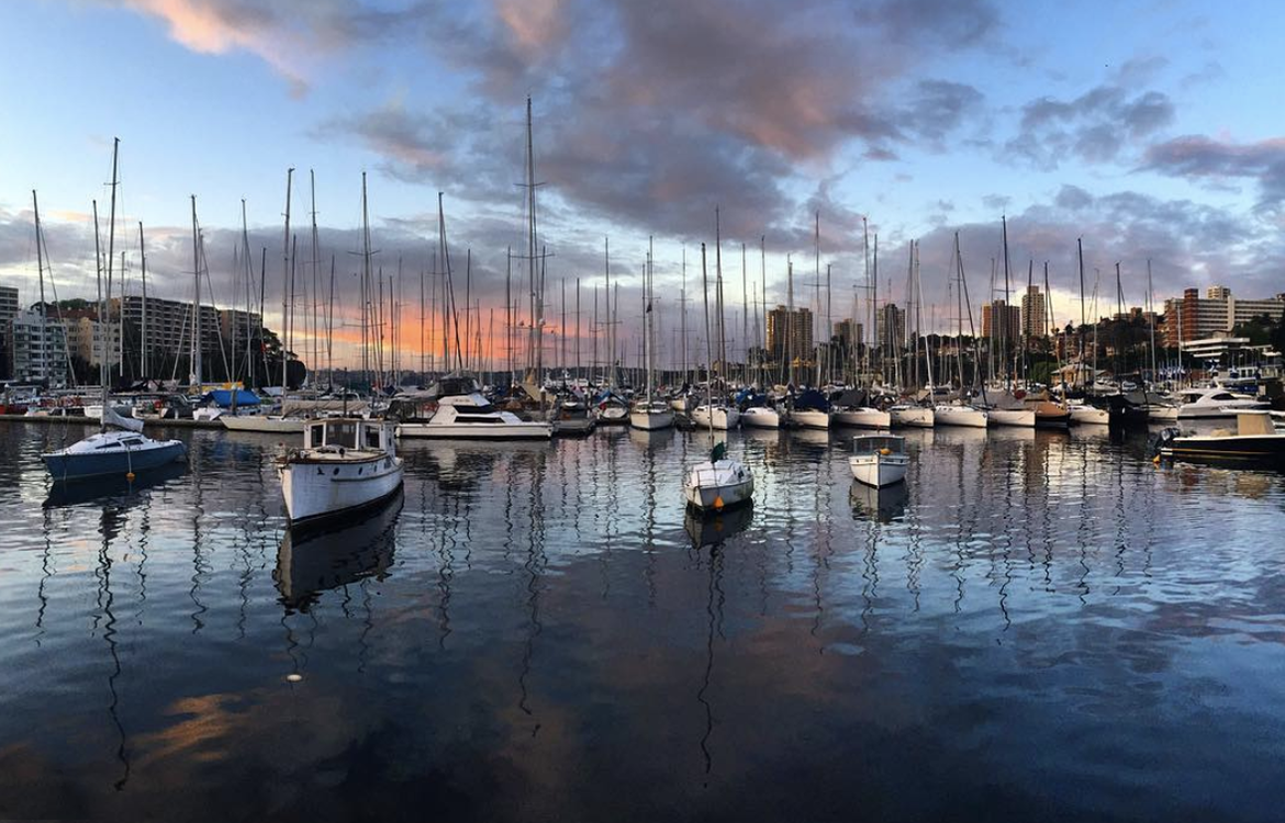 Rushcutters Bay (Photo: Simon Jordan, @simonjordan27)