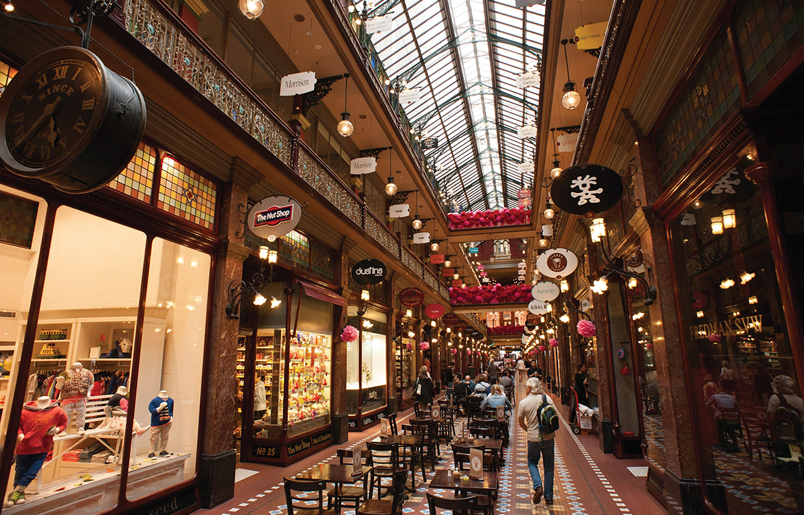 Shopping at Queen Victoria Building (Photo: Tourism Australia)