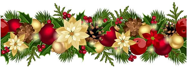 Christmas Decorative Garland 600
